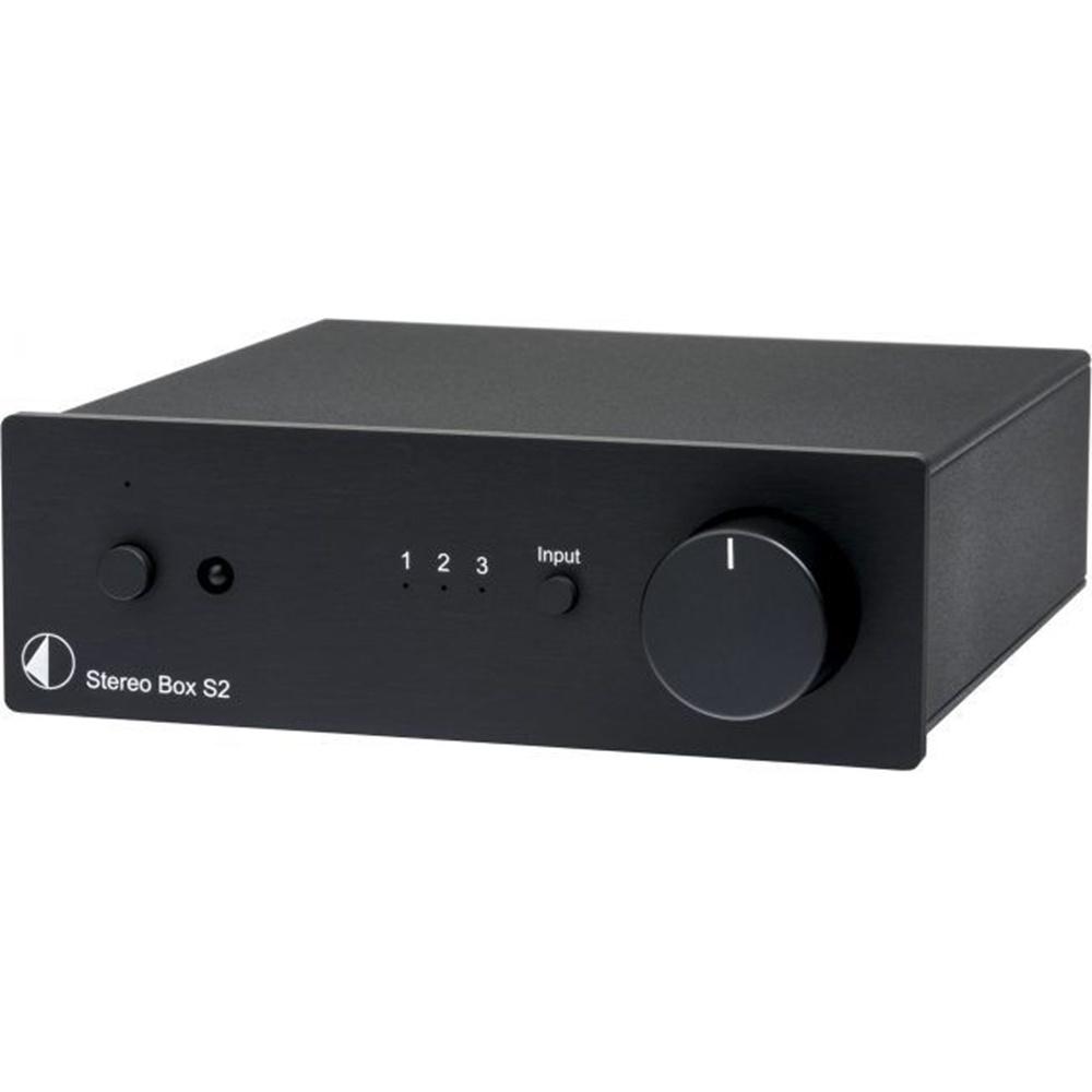 Pro-Ject Stereo Box S2 Black